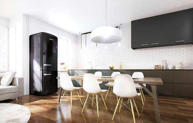 7 buone ragioni per scegliere la cucina nera | Kitchen | Pinterest ...