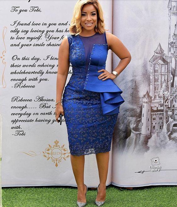 Latest Asoebi Lace Styles African Print Fashion Dresses Lace Dress Styles Lace Fashion