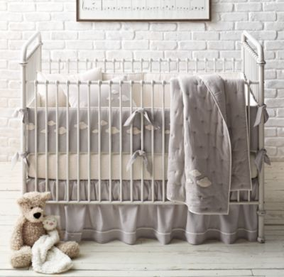 Bouclé Cloud Nursery Bedding Collection Restoration Hardware Baby