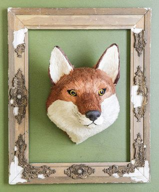Fox Head Décor