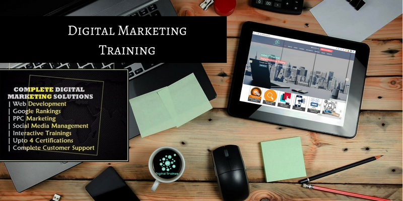 Digital Marketing Course and internship, training and
