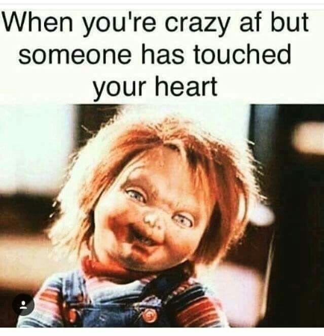 fb30db4f04b54328fddcc667e9fc213d watch out! mwaha adult humor pinterest chucky, memes and humor