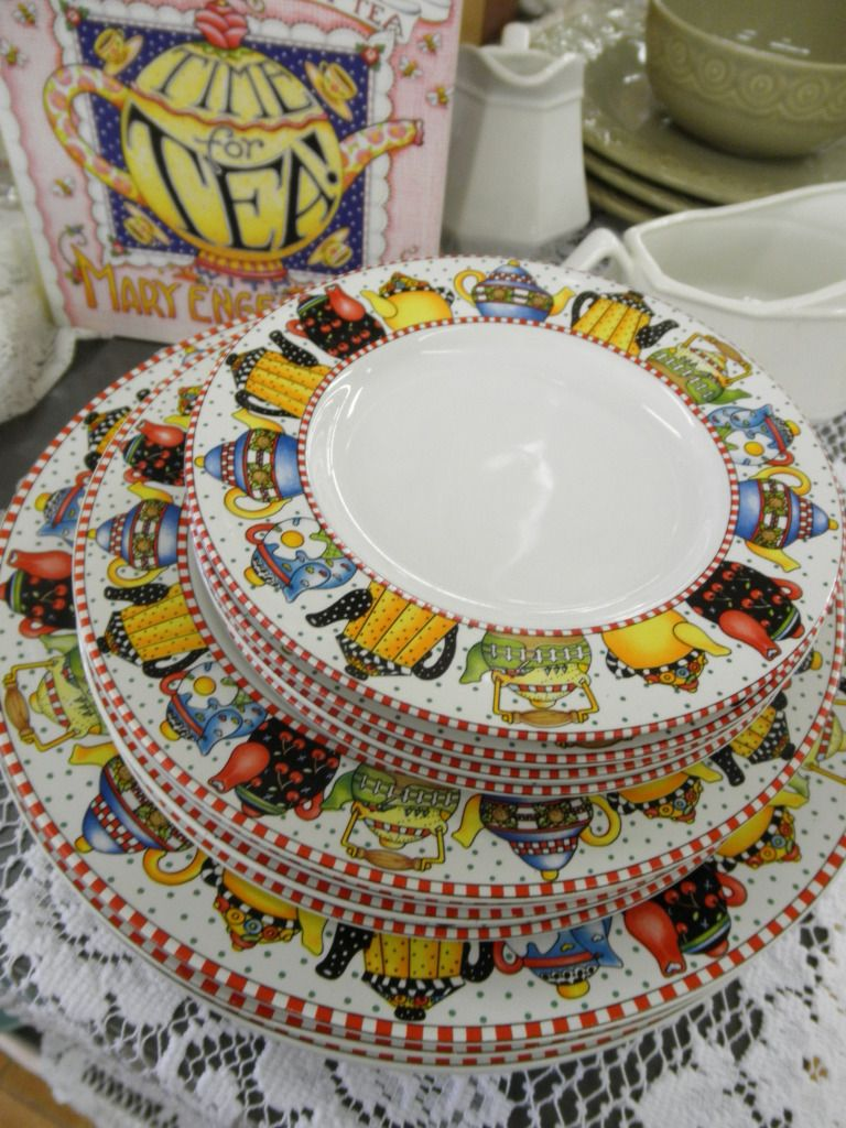 Oh Yes Please Mary Engelbreit Mary Patterned Dishes