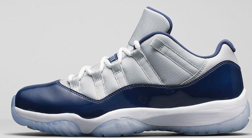 cf594554f6d Air Jordan 11 Retro Low 'Hoyas' | blue jordan | Nike air jordan ...