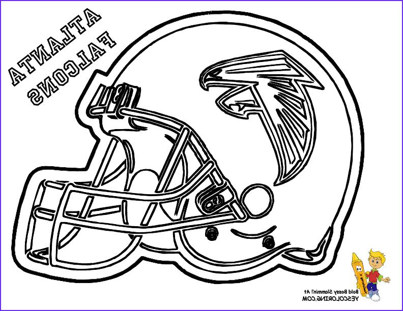 44 Awesome Stock Of Football Helmets Coloring Pages Football Coloring Pages Coloring Pages For Kids Atlanta Falcons Helmet