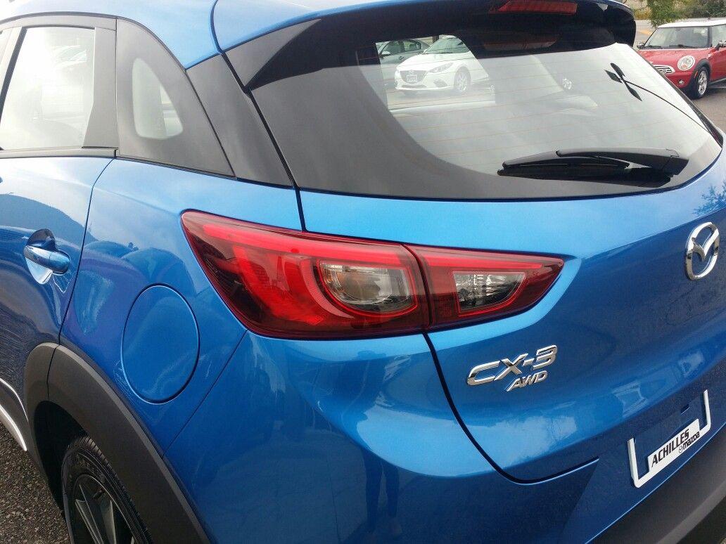 2016 CX3 GT in Dynamic Blue Mazda