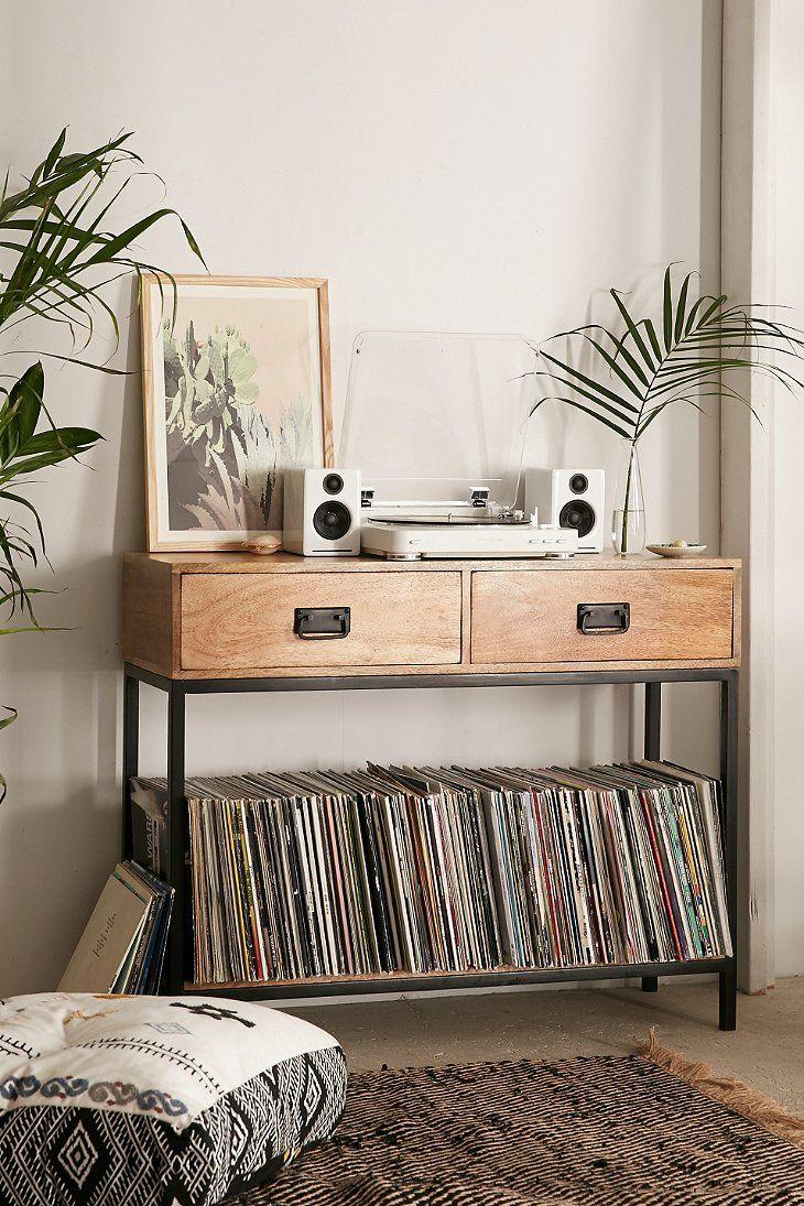 Casper Industrial Wooden Console | Urban Outfitters Stuff ...