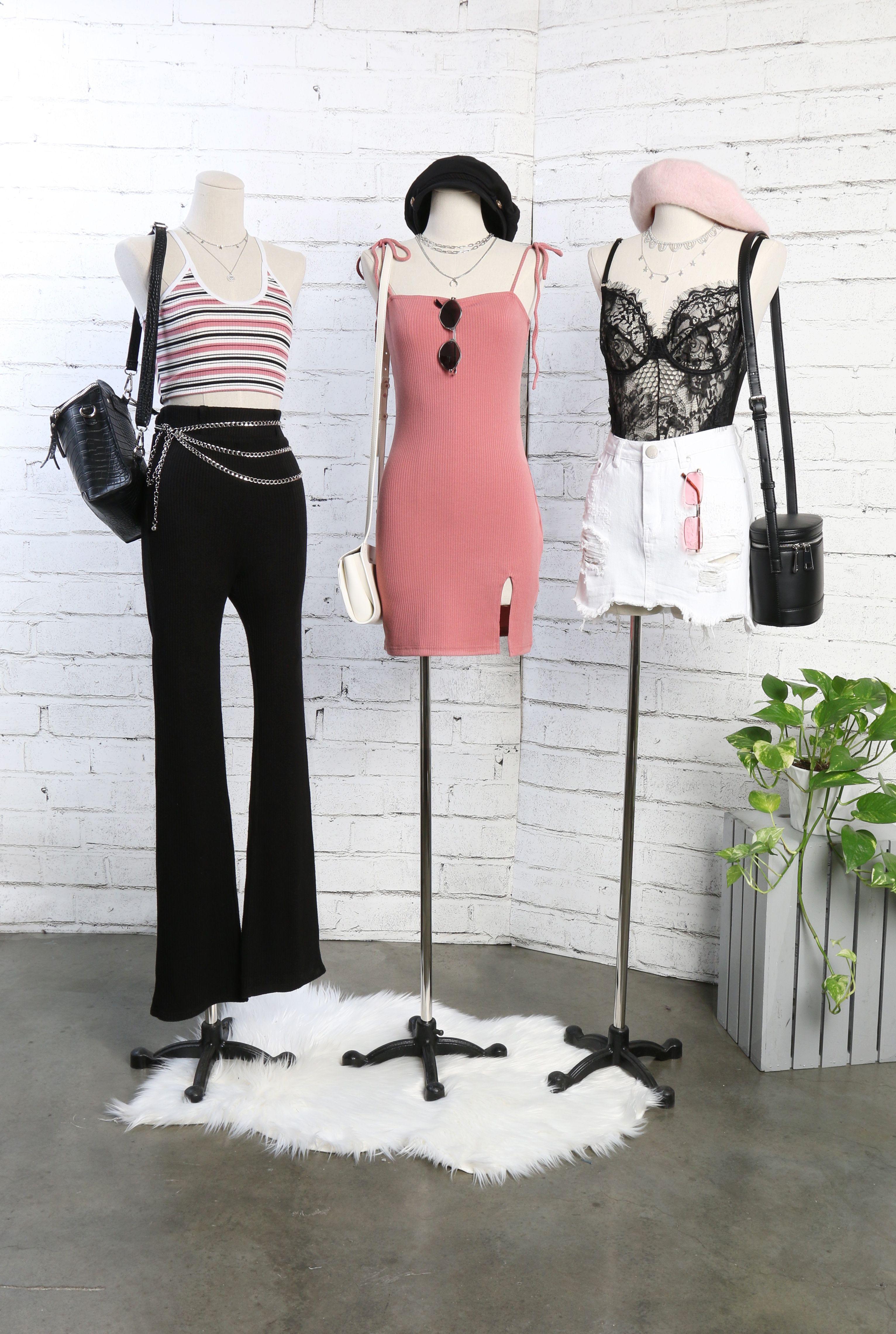 Slit in Between Mini Dress