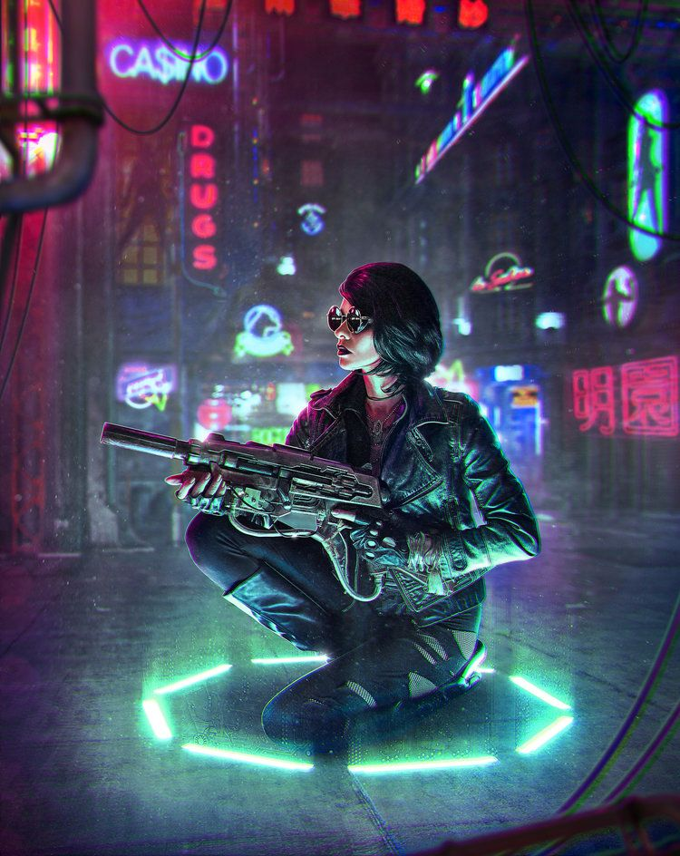 5 Tips for Creating Cyberpunk Artwork — Robert Cornelius