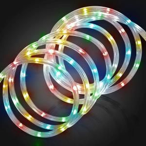Led Rope Lights Home Depot Simple Meilo Creation 48 Ftmulticolor Led Mini Rope Lightsml12Mrl48Ml Design Ideas