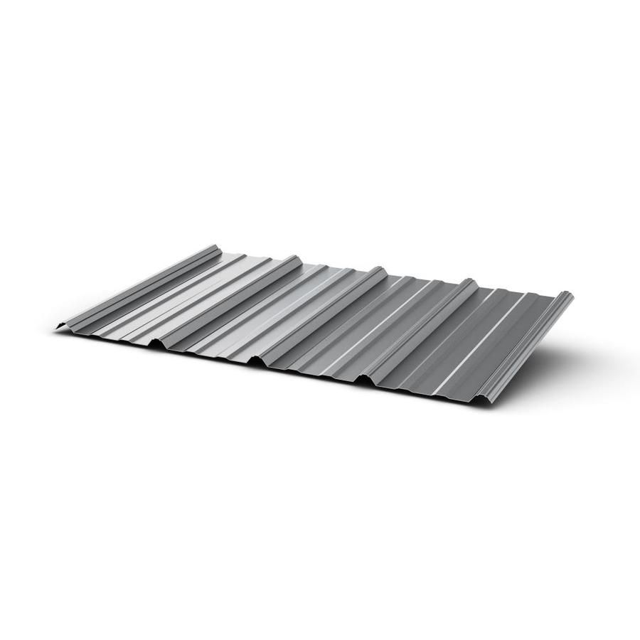 Union Corrugating 3 17 Ft X 8 Ft Ribbed Steel Roof Panel At Lowes Com Metal Roof Metal Roof Panels Corrugated Metal Roof