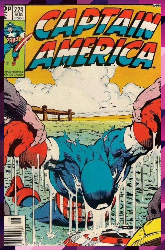 CAPTAIN AMERICA # 224  MARVEL COMIC  1978  vf #America #Captain #Comic #Marvel