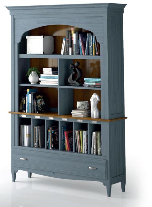 Decora tu salón con esta magnifica #libreria de estilo clásico ...