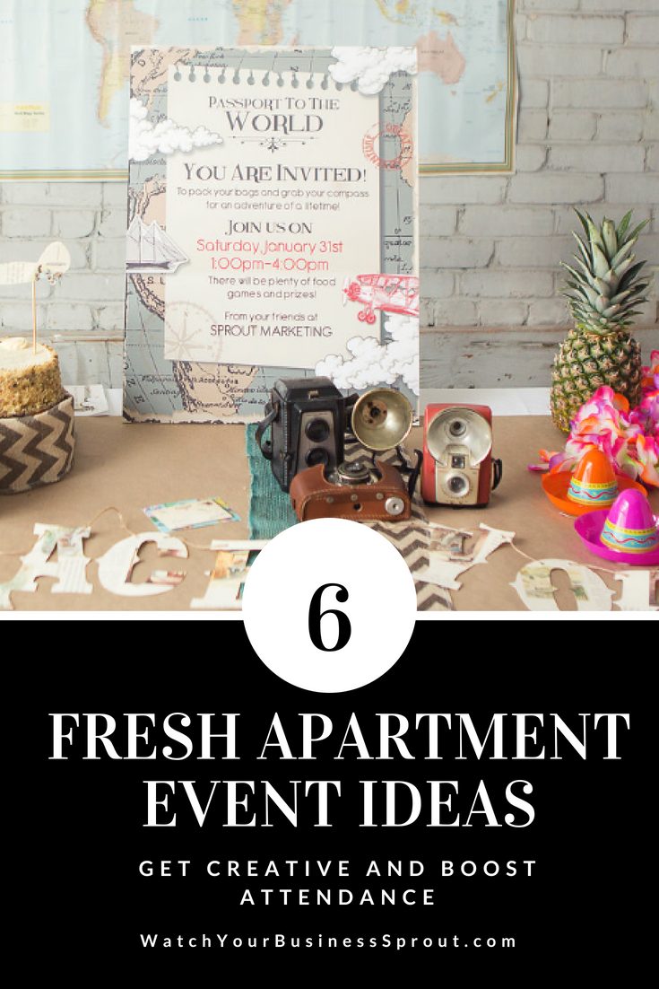 We Are Sharing Six Of Our Favorite Apartment Event Ideas To Be Honest 5 Sounds So Good Right About Now