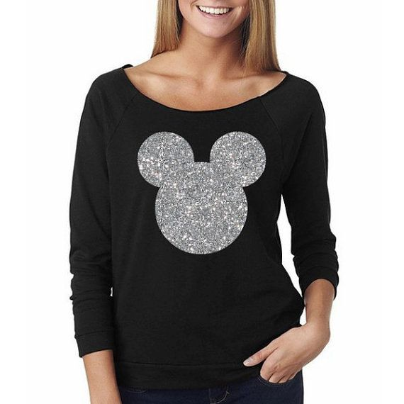 Simply Be Womens Silver Glitter Sweatshirt