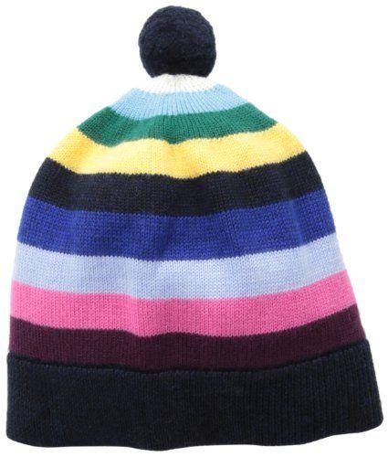 2ebf45ee10c Brooks Brothers Big Girls  Striped Merino Hat