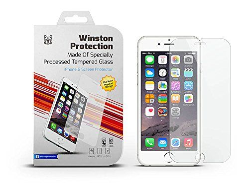 Amazon Com Iphone 6 Glass Screen Protector By Winston Protection