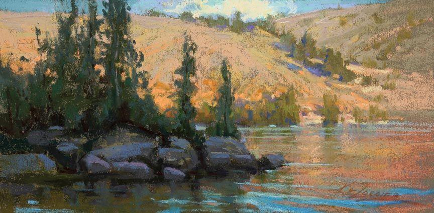 All Aglow, Garnet Lake   Illume Gallery of Fine Art