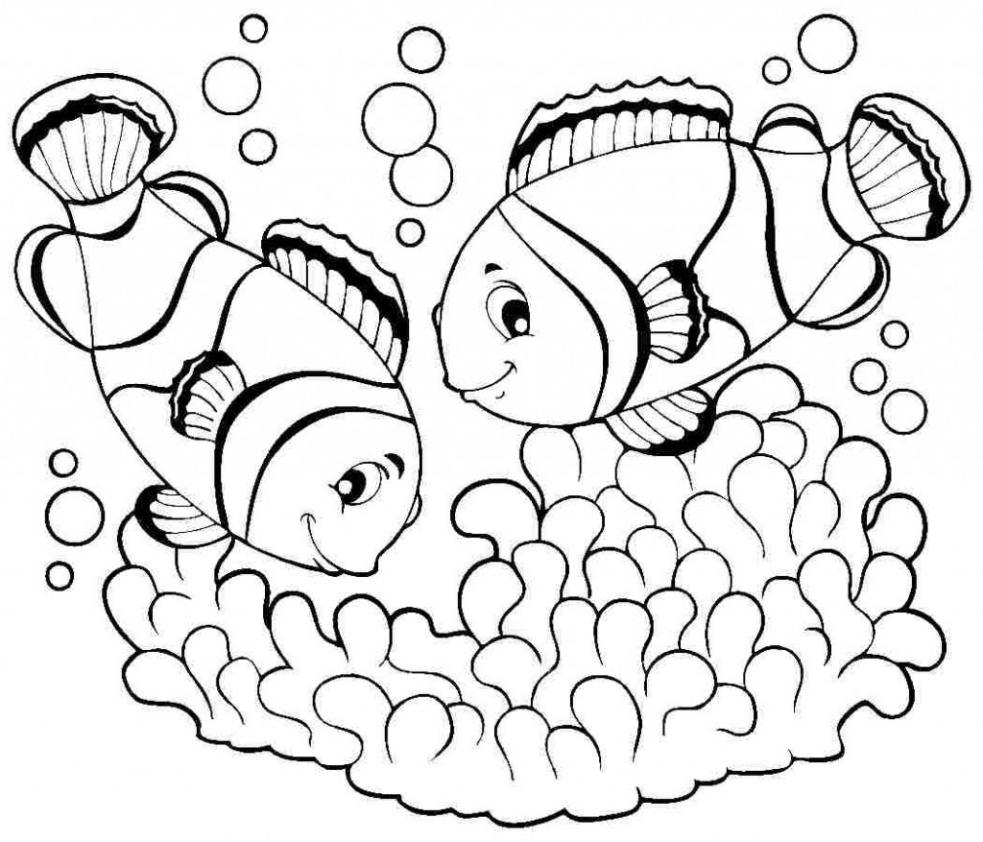 Tổng Hợp Các Bức Tranh Tô Màu Con Cá đẹp Zicxa Hình ảnh