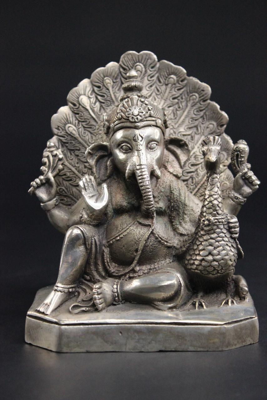 Ganesha Bronze Statue Elefanten Gott Figur Buddha Figur Statue Thai Buddha Statue