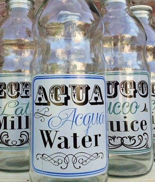 botella cristal kellogs retro leche eBay
