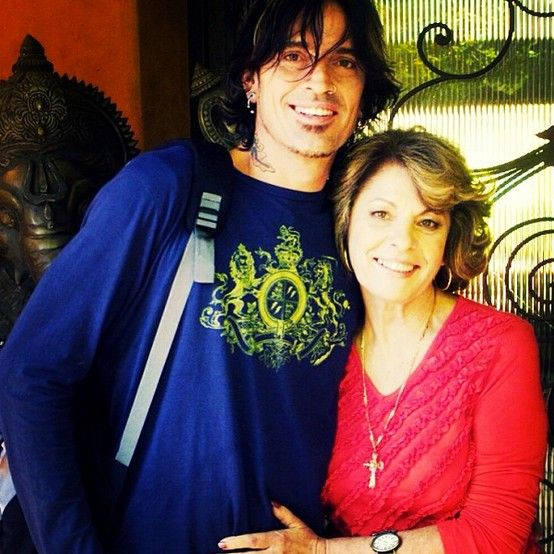 Tommy Lee & his mom