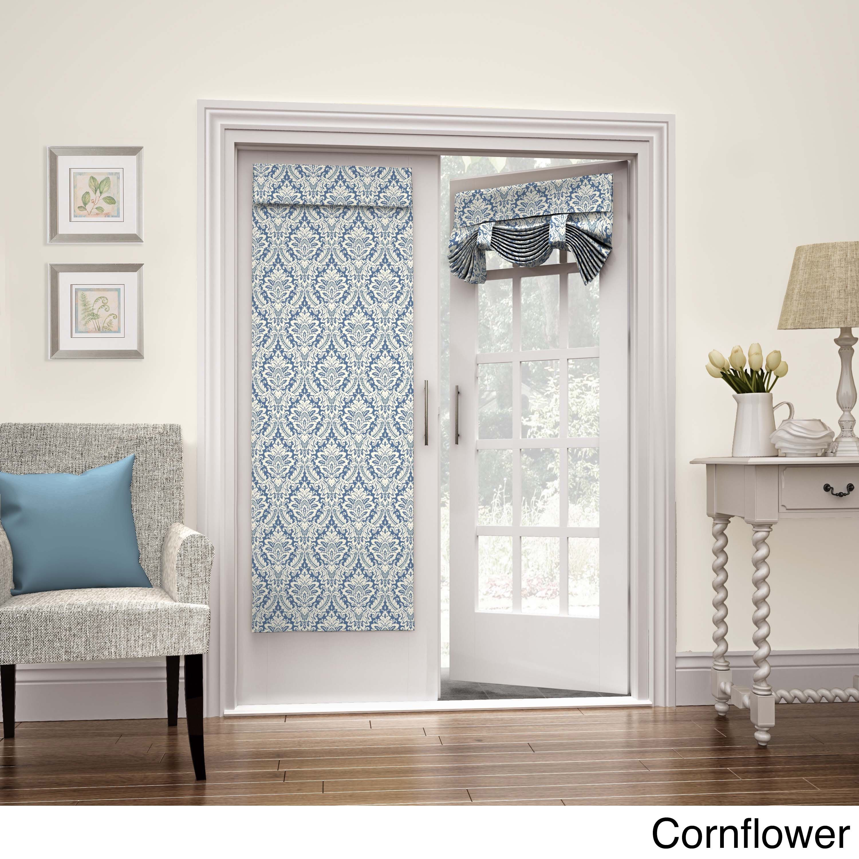 Waverly donnington french door panel doors window coverings and waverly donnington french door panel rubansaba