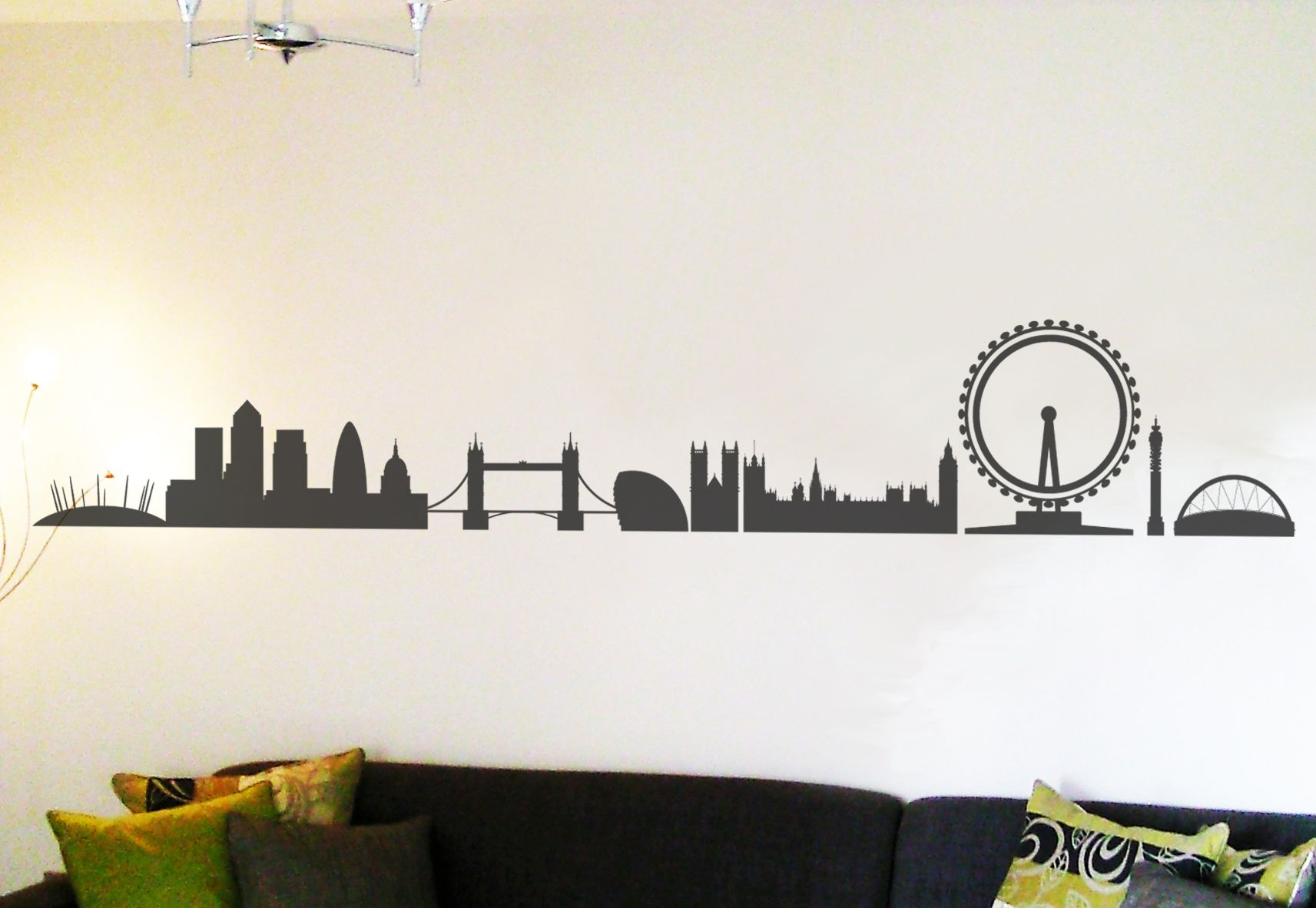 London Skyline Wall Sticker By Nutmeg Wall Art Stickers Made By Nutmeg. At  BOUF