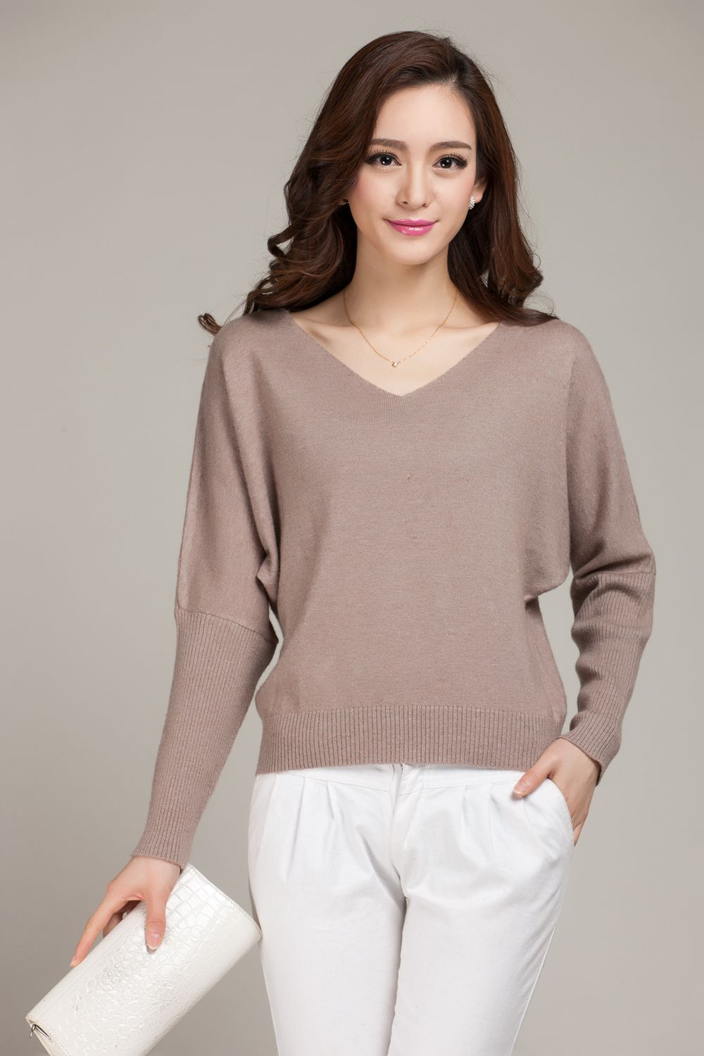 adohon 2017 womens winter Cashmere sweaters and auntmun women ...