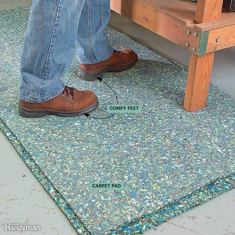 how to measure for carpet padding