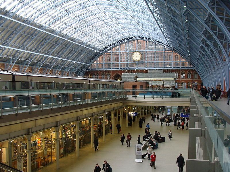 How To Get From St Pancras Station To Gatwick Airport