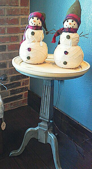 Distressed Side Table $69.99