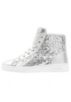 Guess - GORDANA - Sneaker high - silver #guess #silber #damensneaker