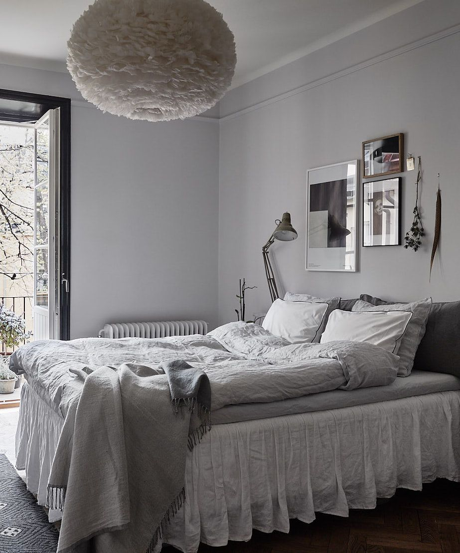 A beautiful home in dark colors via coco lapine design blog