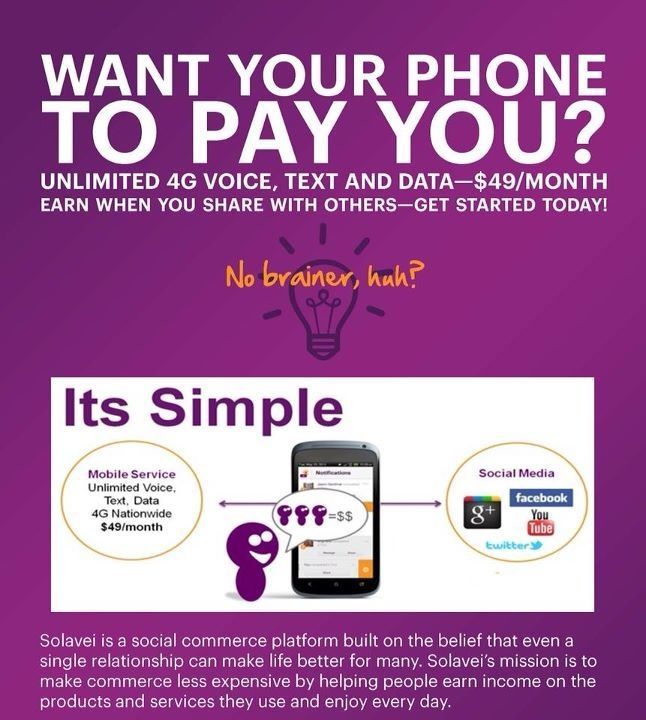 Solavei FREE Mobile Wireless Service!!! Bring Your Own