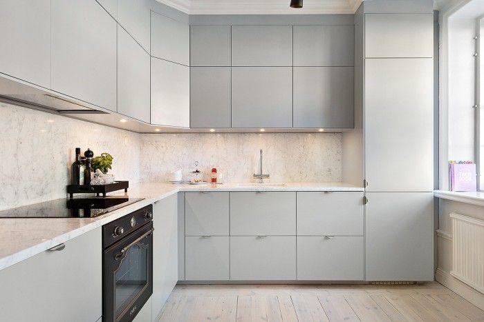 ikea veddinge marmor smeg gr k k marble k che pinterest k che ideen f r die k che. Black Bedroom Furniture Sets. Home Design Ideas