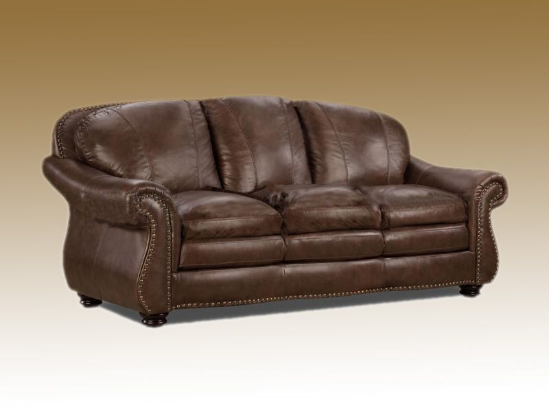 Custom Sofa Full Grain Leather 981213 Couch Mobel Ledersofa