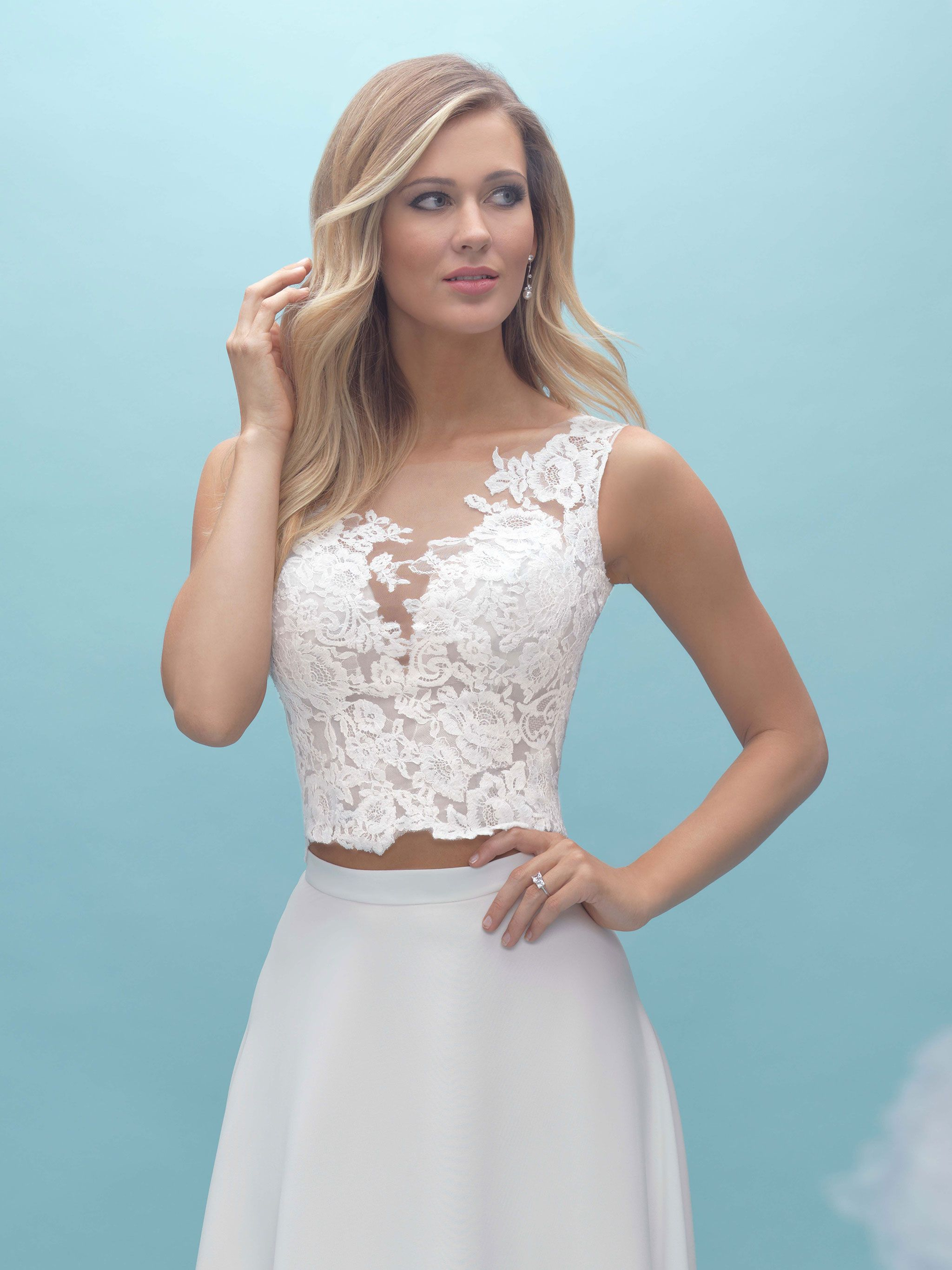 Allure separate top A2030   Our Allure Bridal Gowns   Pinterest ...