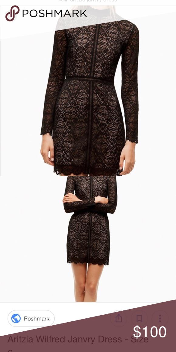 335ca9fe7b9 Aritzia Janvry Dress in Black NWT Brand new. Black lace dress with ...