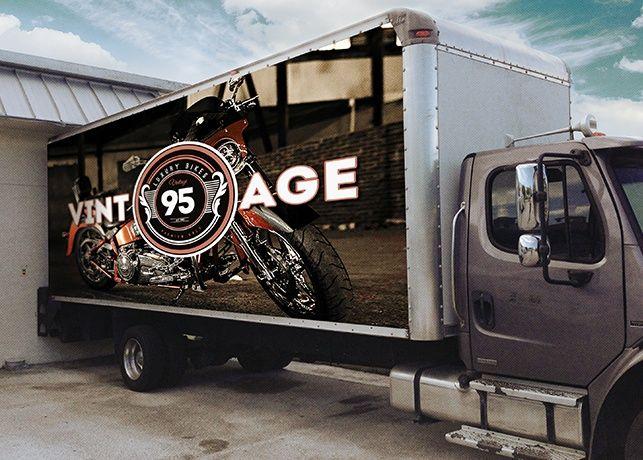 realistic box truck mockup template camiones pinterest mockup