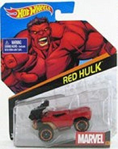 Hot Wheels Marvel Character Car Red Hulk Startup Hot Wheels Marvel Hot Wheels Hot Wheels Cars Toys