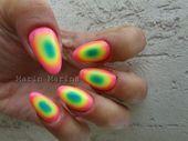 Photo of Rainbow nails by marinmarina  Nail Art Gallery nailartgallery.na by Nails Ma