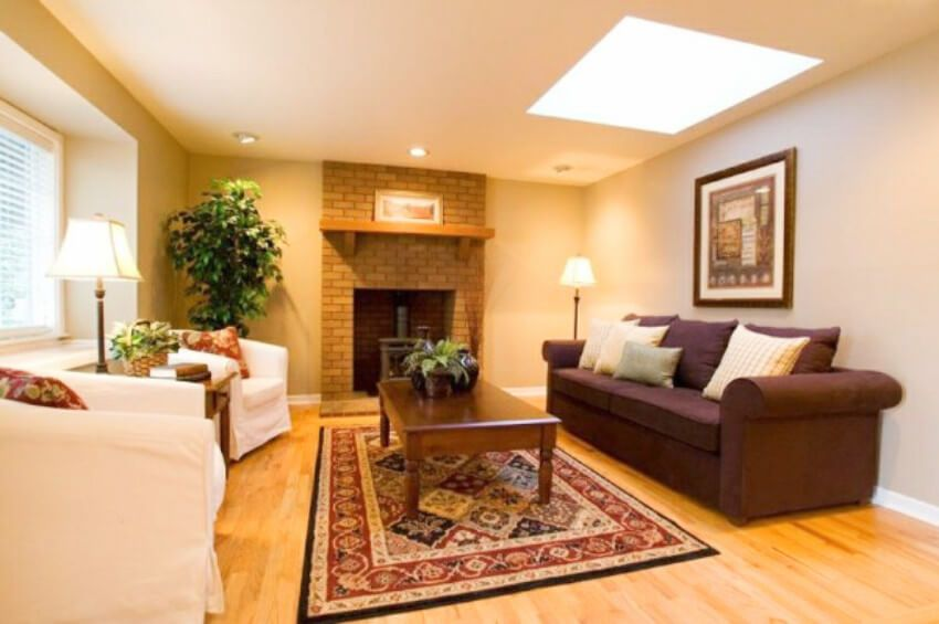 Turn Your Living Room Into A Health Boosting Paradise Living Room Warm Warm Bedroom Colors Colourful Living Room Living room ideas warm colors