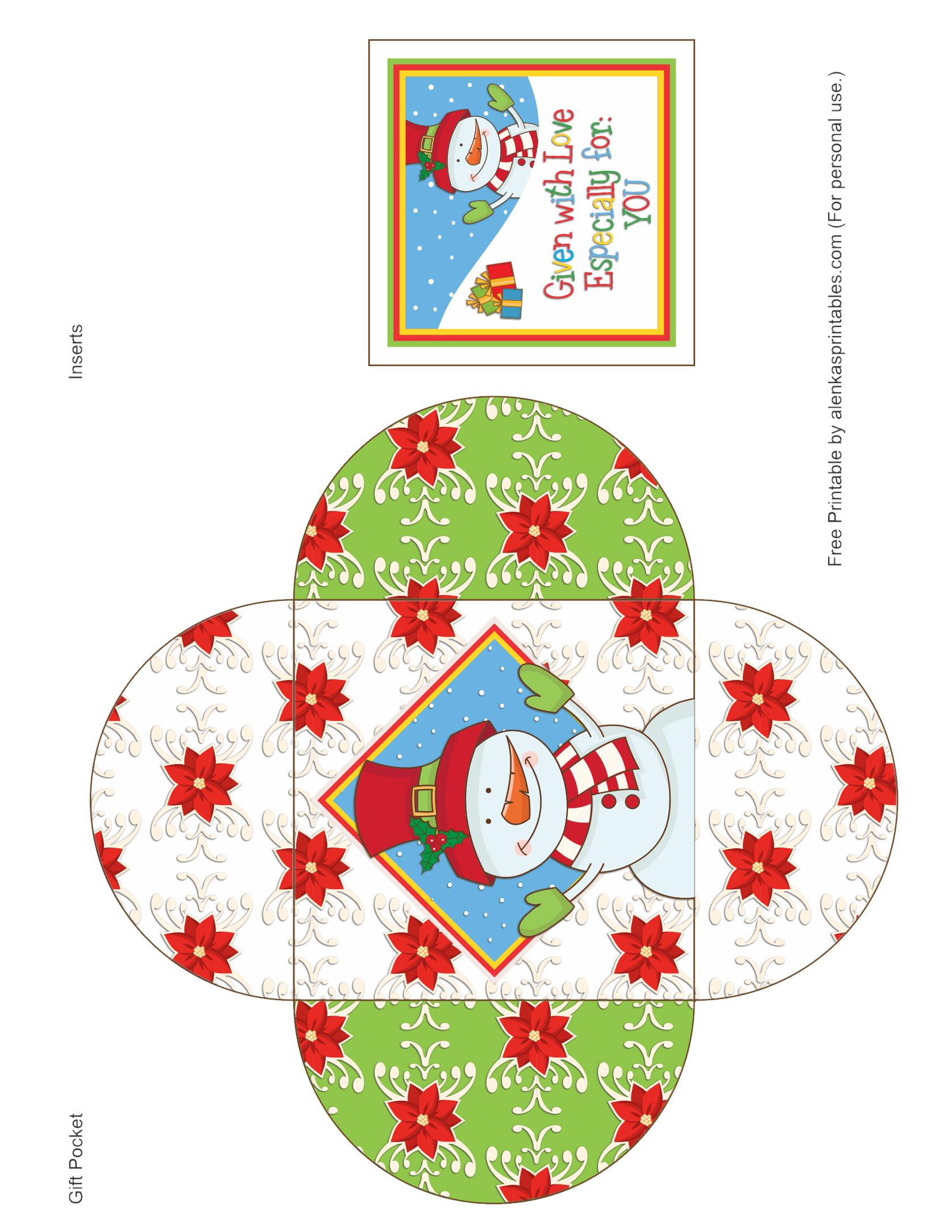 25 Days Of Christmas By Alenka S Printalbes 25 Days Of Christmas Paper Box Template Christmas Printables