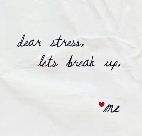 Take a deep breathe & stress less!