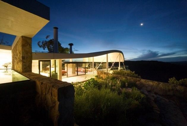 Berman House in Joadja, New South Wales, Australia by Harry Seidler | Awesome Architecture