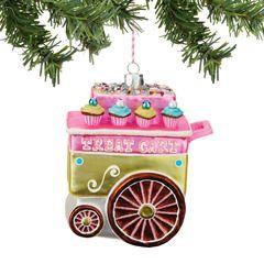Treat Cart Ornament - 4048493