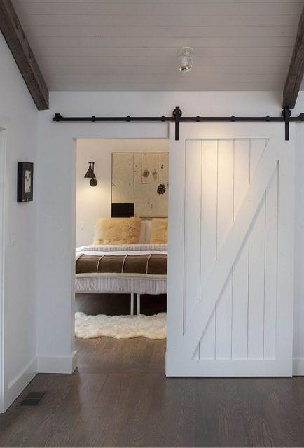 Color Me Carla Has Moved Barn Door Designs Contemporary Bedroom