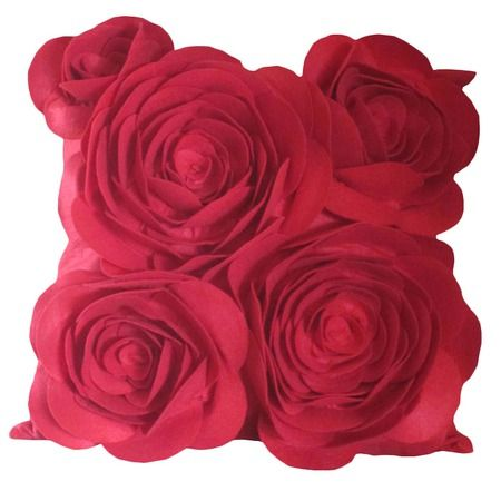 I pinned this Painting the Roses Pillow in Red from the Caryn Grossman event at Joss and Main!