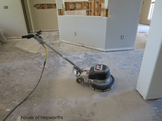 The Best Way To Remove Thinset From A Cement Foundation Tile Removal Diy Flooring Removing Floor Tiles